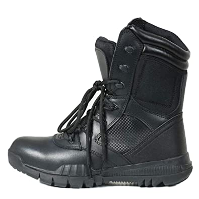 062dd8ba4cdd4 Amazon.com | DSFGHE Men Boots Tactical Forces High-top Breathable ...