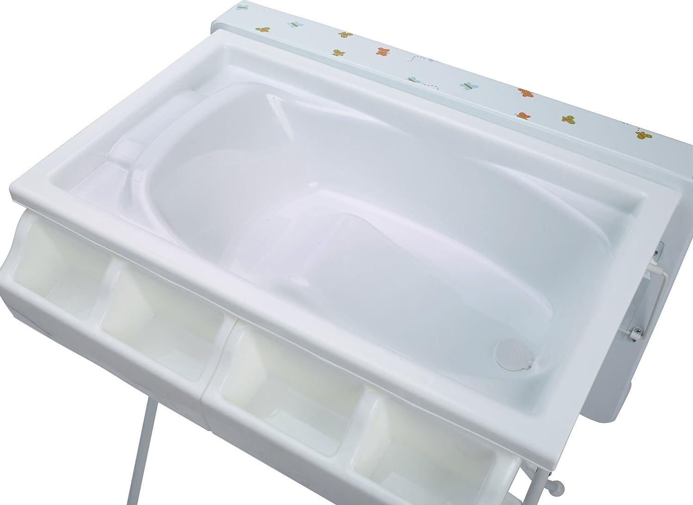 Wickeltisch mit Badewanne Wickelkommode klappbar 4 Dekore FRIENDS IB-Style