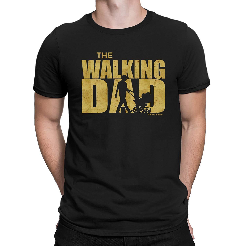 buzz shirts Regalo per I Padri The Walking Dad Maglietta da Uomo