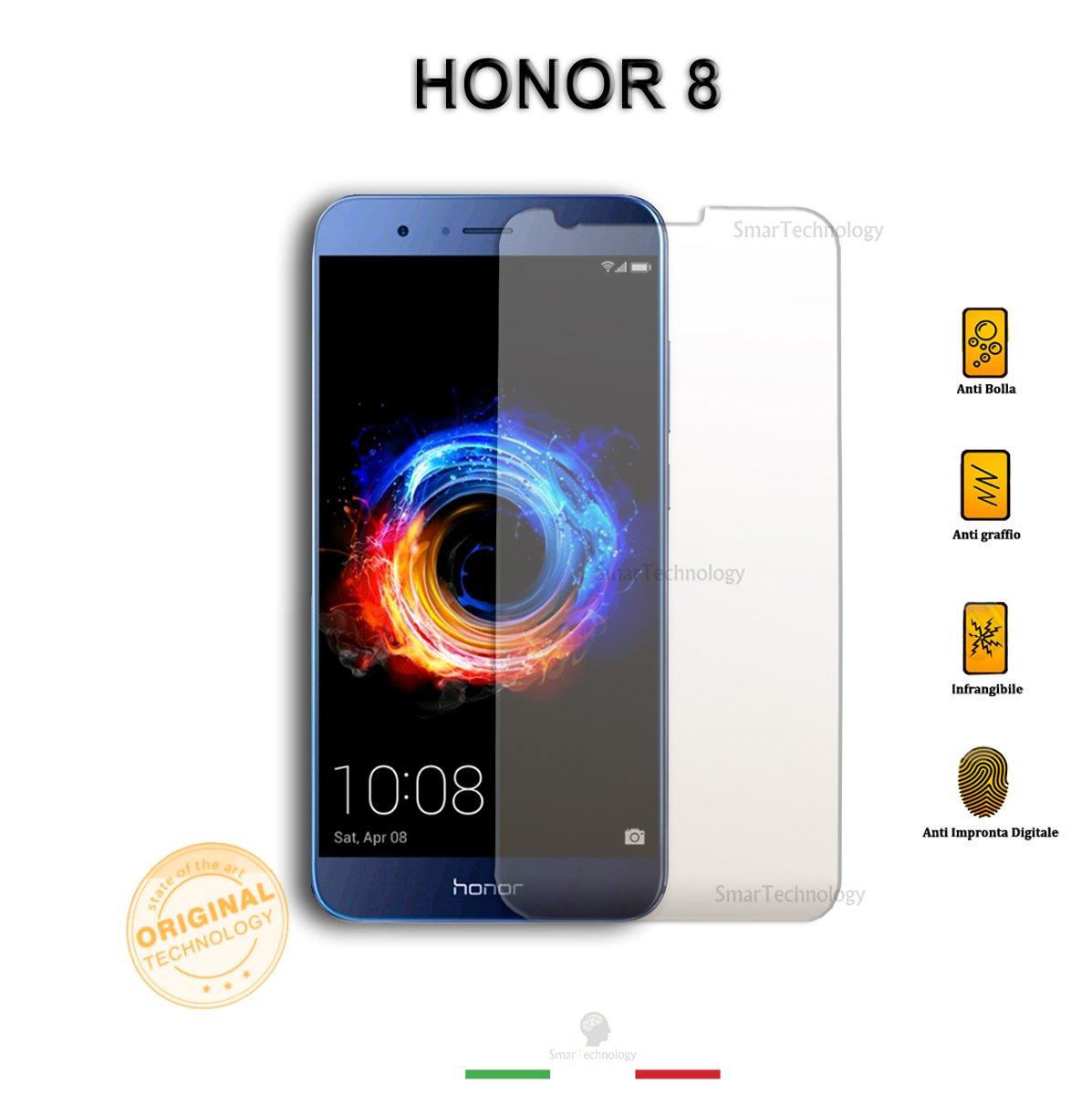 1neiSmartech Protector Cristal Templado Transparente Huawei Honor ...