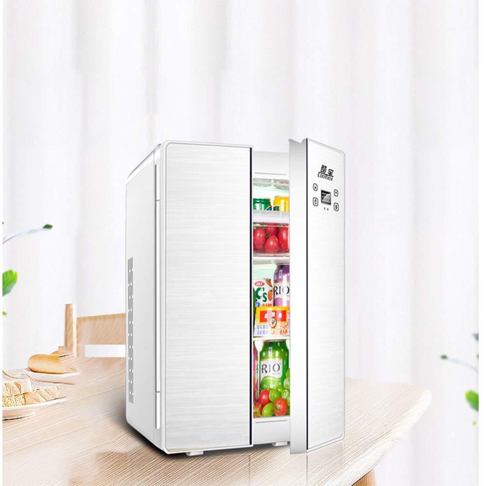 25l Coche De Refrigerador del Coche De Doble Uso Doble Puerta De ...