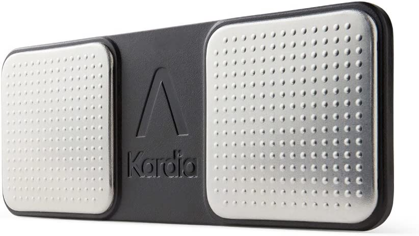 AliveCor KardiaMobile EKG Monitor FDA-Cleared Wireless Personal EKG Works with Smartphone Detects AFib Bradycardia and Tachycardia in 30 Seconds