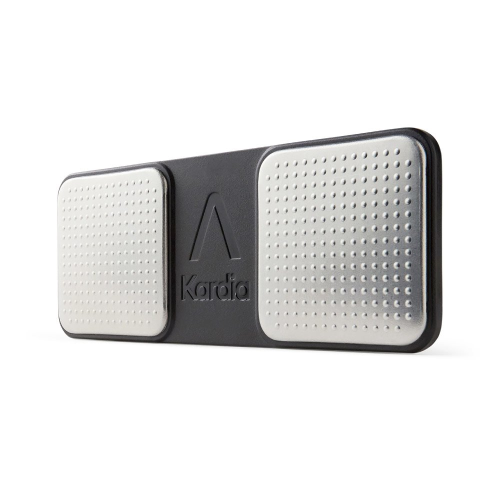 Alivecor® KardiaMobile EKG Monitor | Wireless EKG | Captures Heart Rate, Rhythm & Symptoms for Early Detection of AFib | For Smartphones & Tablets | FDA Cleared