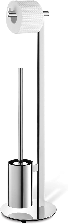 6 x 17,5 x 9 cm Acero Inoxidable ZACK portarollos de Papel higi/énico
