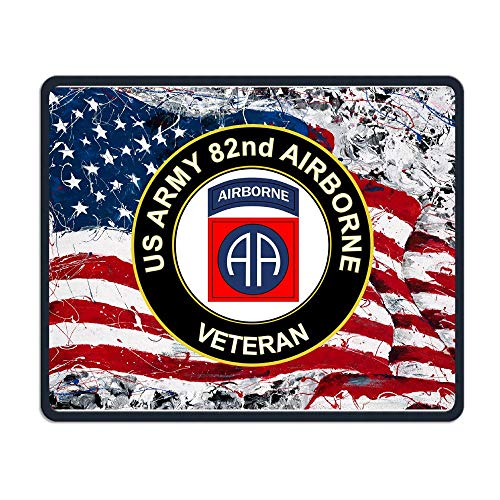 - US Army Veteran 82nd Airborne Mouse Pads Non-Slip Gaming Mouse Pad Mousepad for Working,Gaming and Other Entertainment