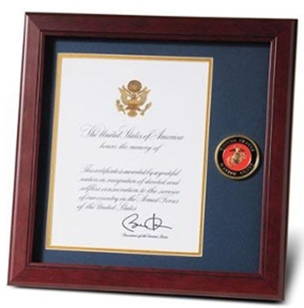 Amazon Us Marine Corps Medallion Presidential Memorial Frame