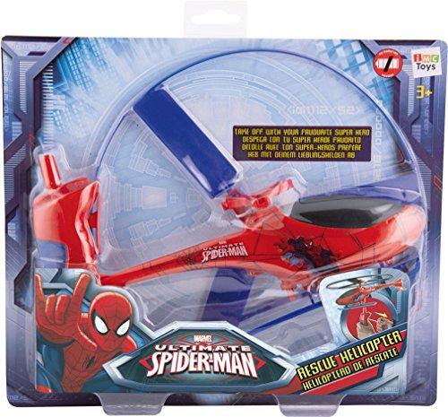 Improkamp Musik Marvel Spiderman Rescue Helicopter, Red/Blue