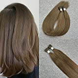 Bleaching Hair Experience - Moresoo I tip Hair Extensions 22 Inch Color #6 Pre Bonded Stick Hair Extensions 50g/pack 1g 1s 100 Real Hair Extensions I tip Hair Extensions