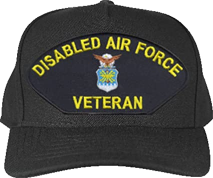 Image Unavailable. Image not available for. Color  MilitaryBest Disabled Air  Force Veteran Ball Cap a7b51590a61