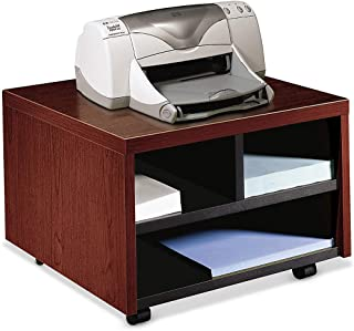 product image for HON Printer/Fax Stand, Mobile, 20 by 19-7/8 by 14-1/8-Inch, Mahogany