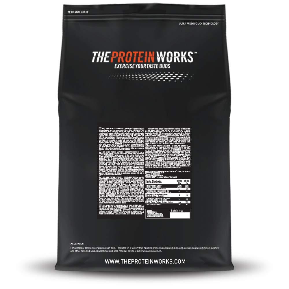 The Protein Works Batido Sustitutivo para Perder Peso, Fresas con ...