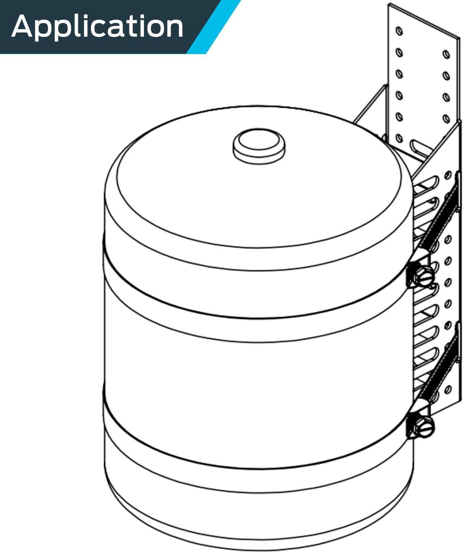 T TOOYFUL 2X 5 Fach Schnellverschluss QR QD 1//2Riser Block Halterung F/ür Picatinny Schiene Abnehmen
