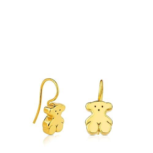 8bf8a2a09a66 Pendientes TOUS Sweet Dolls de oro amarillo de 18 kt, Cierre gancho ...