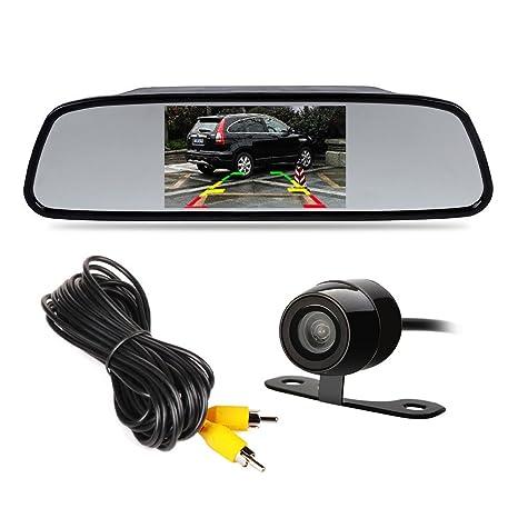 Car Video 2x 360°hd 170° Car Reverse Backup Night Vision Camera Rear View Parking Cam Kit