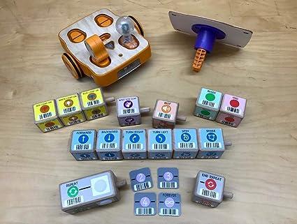 Amazon com: KinderLab Robotics KIBO 15 - The Screen-Free