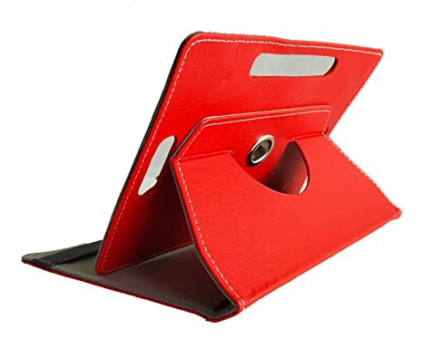 huge selection of 835c5 46711 3F Universal Flip Cover for All 8 INCH TABS RED: Amazon.in: Electronics
