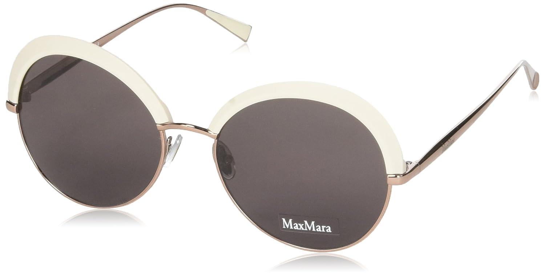 Max Mara Mujer Mm Ilde Ii K2 25A 57 Gafas de sol, Blanco ...