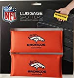 50% OFF! BRONCOS Luggage Spotter Suitcase Handle Wrap Bag Tag Locator with I.D. Pocket (2-PACK) - CLOSEOUT! THIS IS THE LAST OF THEM!