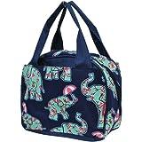 Baby Elephant Umbrella Print NGIL Insulated Lunch Bag