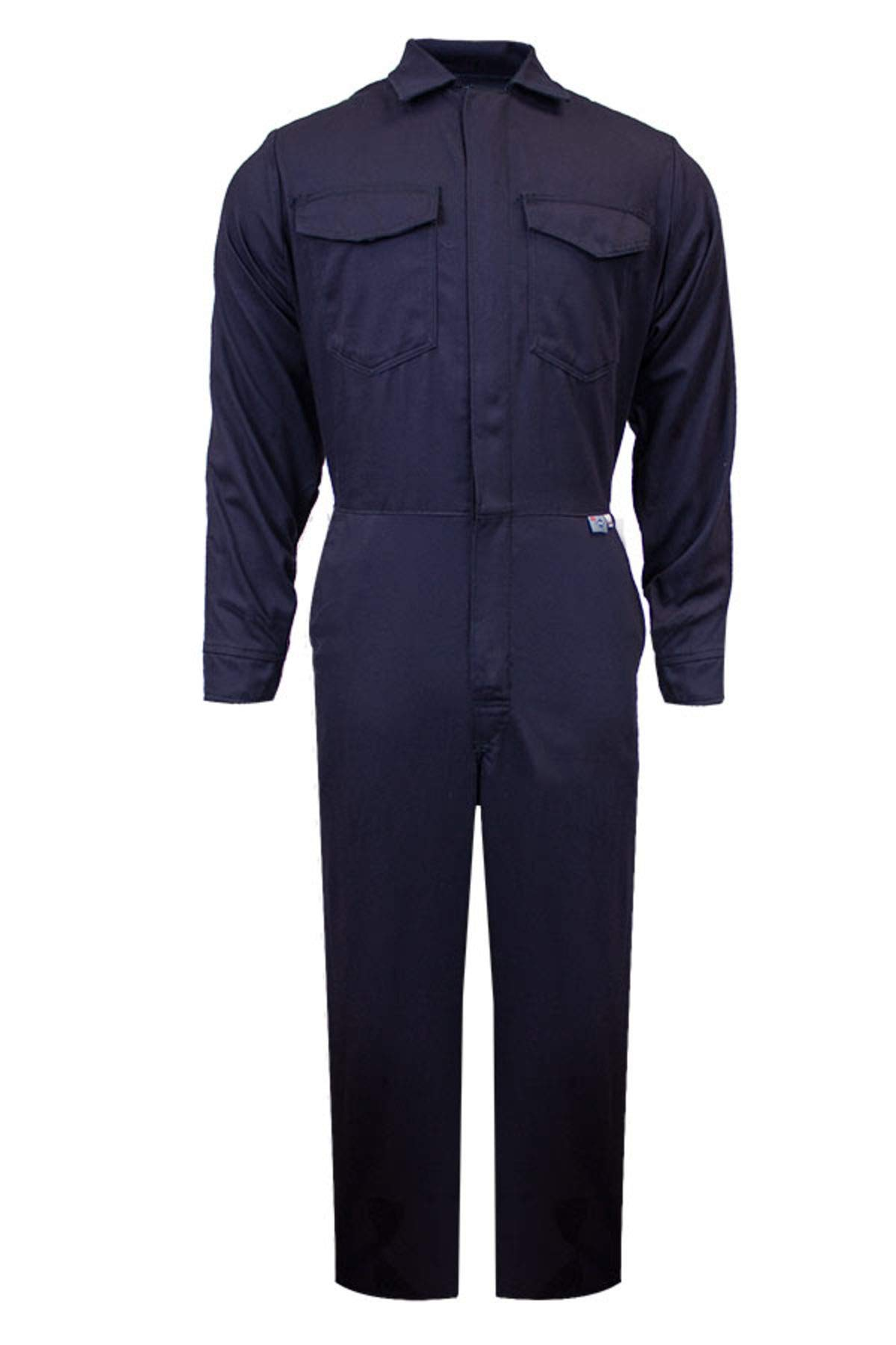 National Safety Apparel C88UPXL30 ArcGuard UltraSoft Arc Flash Coverall, X-Large, Navy