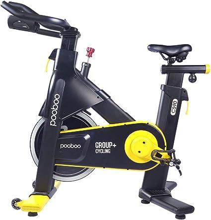 L NOW CC590 Bicicleta estática de Ciclismo para Interiores: Amazon ...