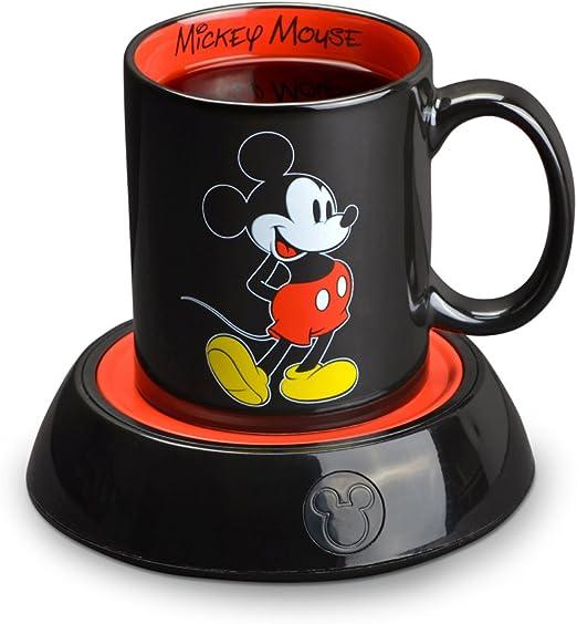 Disney DMG18 Calentador de taza Mickey Mouse Negro 10 onzas 295 73ml 1