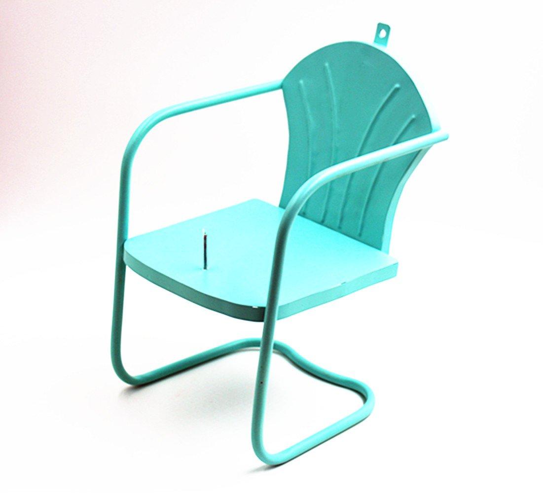 Deco Retro Lawn Chair Squirrel Feeder