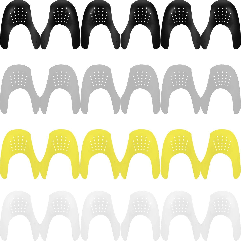 12 Pares de Zapatos, Escudos, Protector, Puntera, Reductor, Prevención de Sangrado de Los Zapatos de la Zapatilla de Deporte, Hombres 7-12/ Mujeres 5-8: Amazon.es: Salud y cuidado personal