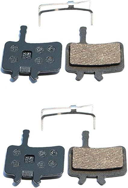 SCP-XO Resin,Semi-Metallic,Sintered Metal Dymoece 2 Sets Bicycle Disc Brake Pads for Sram Guide RSC RS R Elixir 7 9 Avid XO Trail 4 Piston MTB Disc Brakes