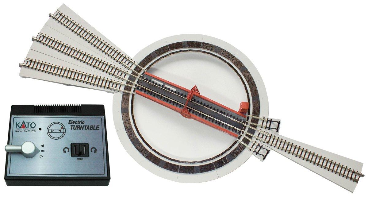 N gauge 20-283 electric turntable