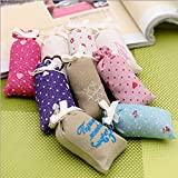 4pcs/lot Air Freshener, Natural scented sachet fragrance, Odor Eliminator with variants of Lavander, Jasmine, Vanilla and lotus for Pillow, Wardrobe, Drawer, Closet, Car, Suitcase, Workout Bags