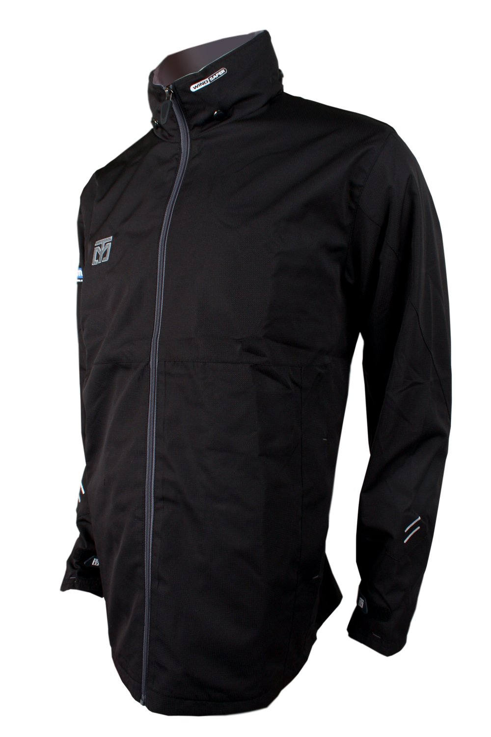 Mooto Wings Wind Breaker 4 Color Jacket Training TaeKwonDo 4.26ft to 6.88ft (Black, 160(150cm-160cm or 4.92ft-5.24ft)) by Mooto