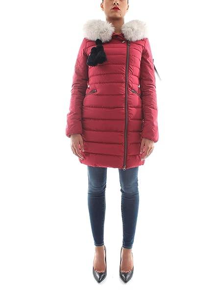 a0df6a15e61429 Peuterey - Donna SERIOLA 02 Fur NER Parka Trapuntato Nero con Pelliccia -  28082: Amazon.it: Abbigliamento