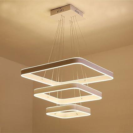 GYF Lámpara Colgante Moderna Lámpara de Techo LED Lámpara de ...