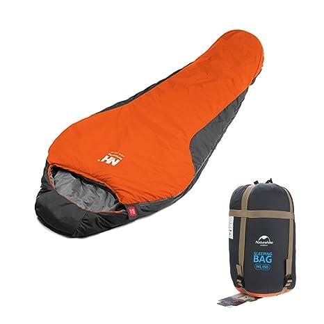 OUTERDO portátil cálido algodón saco de dormir Saco de dormir al aire libre impermeable Camping saco
