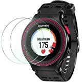 Wimaha 2 Pack Garmin Forerunner 225 Screen Protector for Garmin Forerunner 225 GPS Running Watch Garmin Forerunner 225 Tempered Glass Screen Protectors