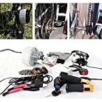 61ZRbVuslCL. SS150 450W upgrade electric bicycle brush motor lens electric bike headlight throttle with key switch barke lever can fit…