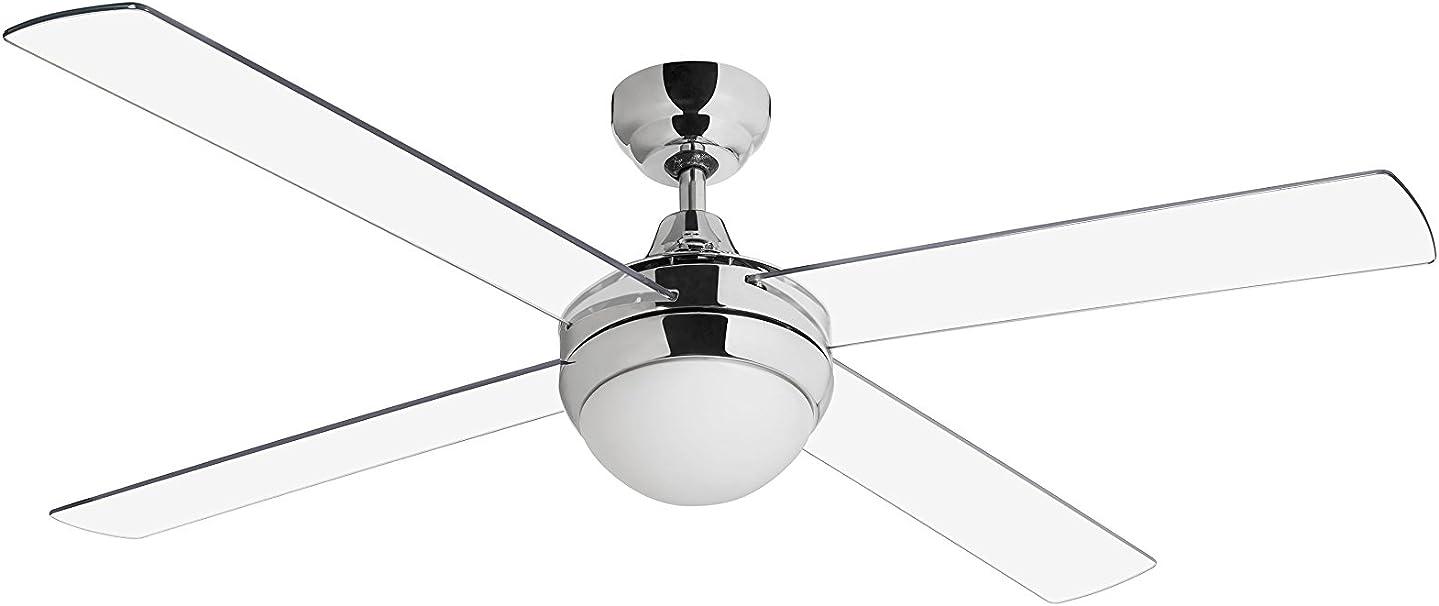 Ventilador de techo Sulion 075007 modelo Cross con luz, mando a ...
