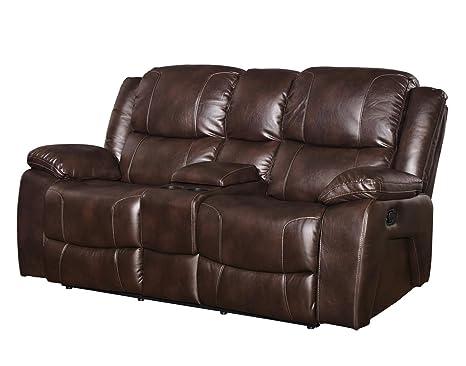 Pleasing Amazon Com Ncf Furniture Kane Dual Power Motion Recliner Evergreenethics Interior Chair Design Evergreenethicsorg