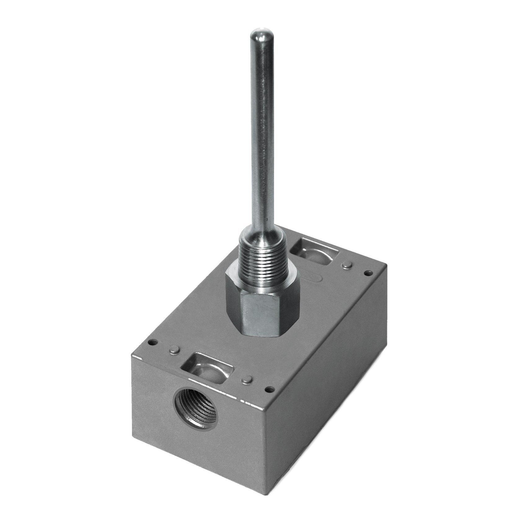 A/20K-I-4''-BB | ACI | 20K ohm | Stainless Steel Well Water Fluid Steam Temperature Sensor | Sensor Length: 4 inch | NEMA 3R (Bell Box) Housing Enclosure Box |