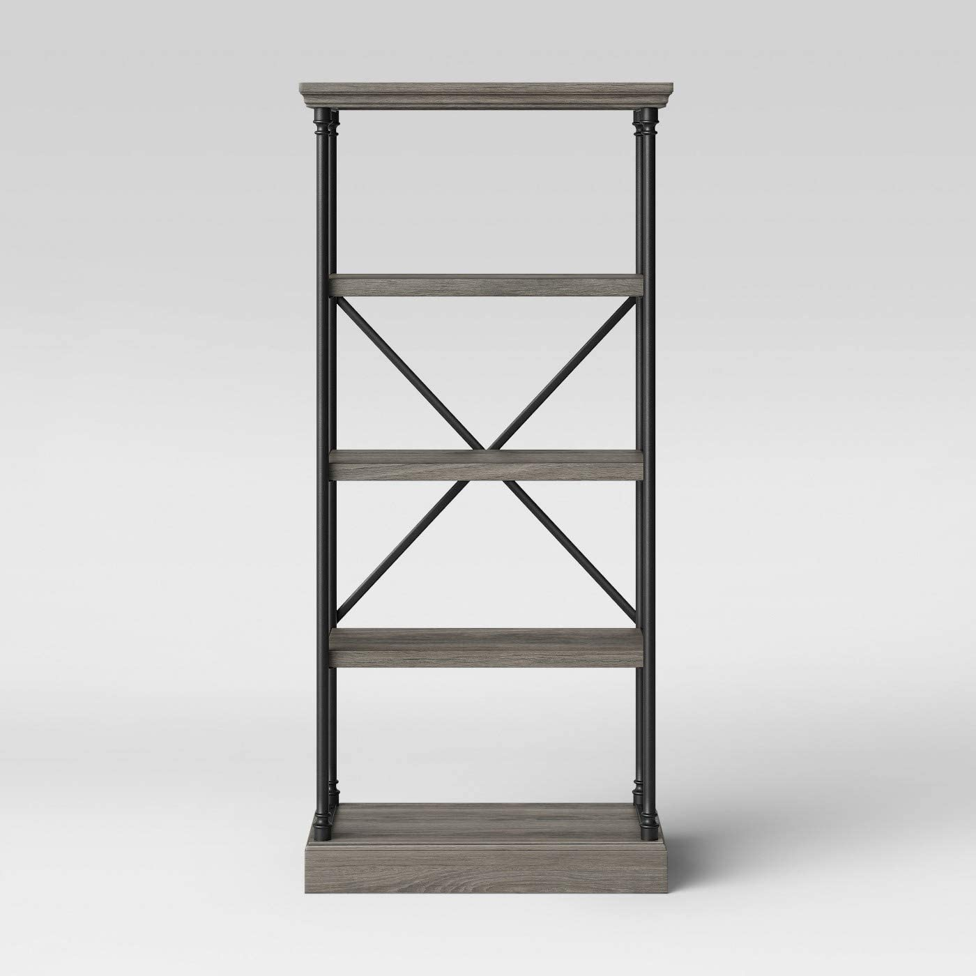 65″ Conway Cast Iron Bookcase