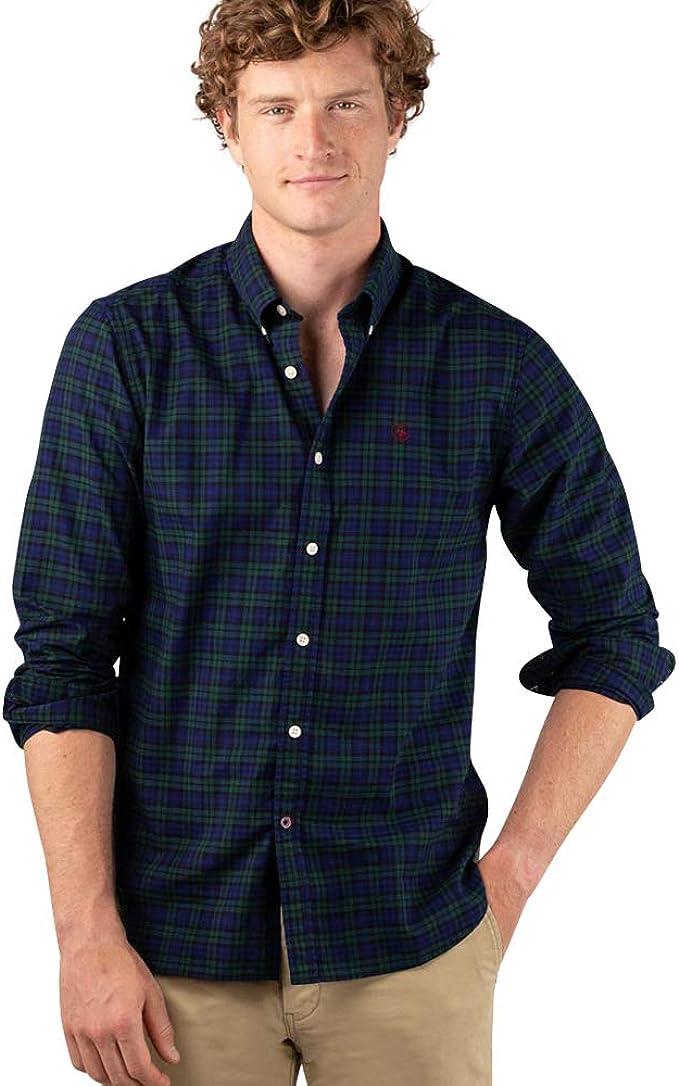 El Ganso 1 Camisa casual, Verde (Verde 0054), Small para Hombre: Amazon.es: Ropa y accesorios