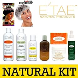 Etae Natural Shampoo, Conditioner, Carmel Treatment, Buttershine, Gloss, Nutrient, Kids