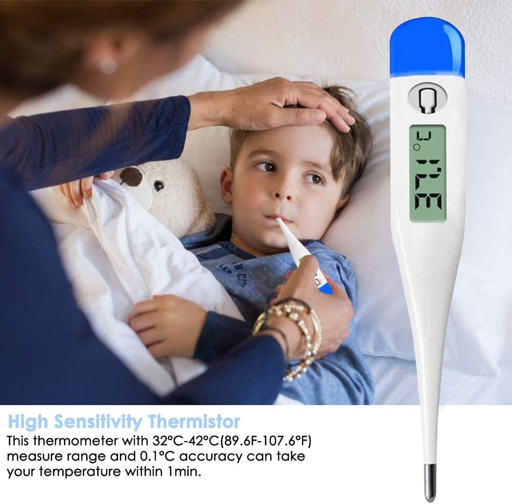 Digital Body Thermometer with Flexible tip High Accuracy and Fast Result by Femometer Expedited Delivery