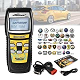 Car OBD2 Scan Tool, Kiwitatá OBDii Scanner CAN Bus Code Reader Engine Light Live Date Tester Diagnostic Trouble Codes(DTCs) for All OBDII Certified Vehicles