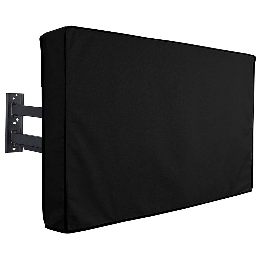 Stanbroil Outdoor TV Cover Series, Weatherproof Universal Protector for 46'' - 48'' LCD, LED, Plasma Television Screens - Compatible with Standard Mounts & Stands. Built In Remote