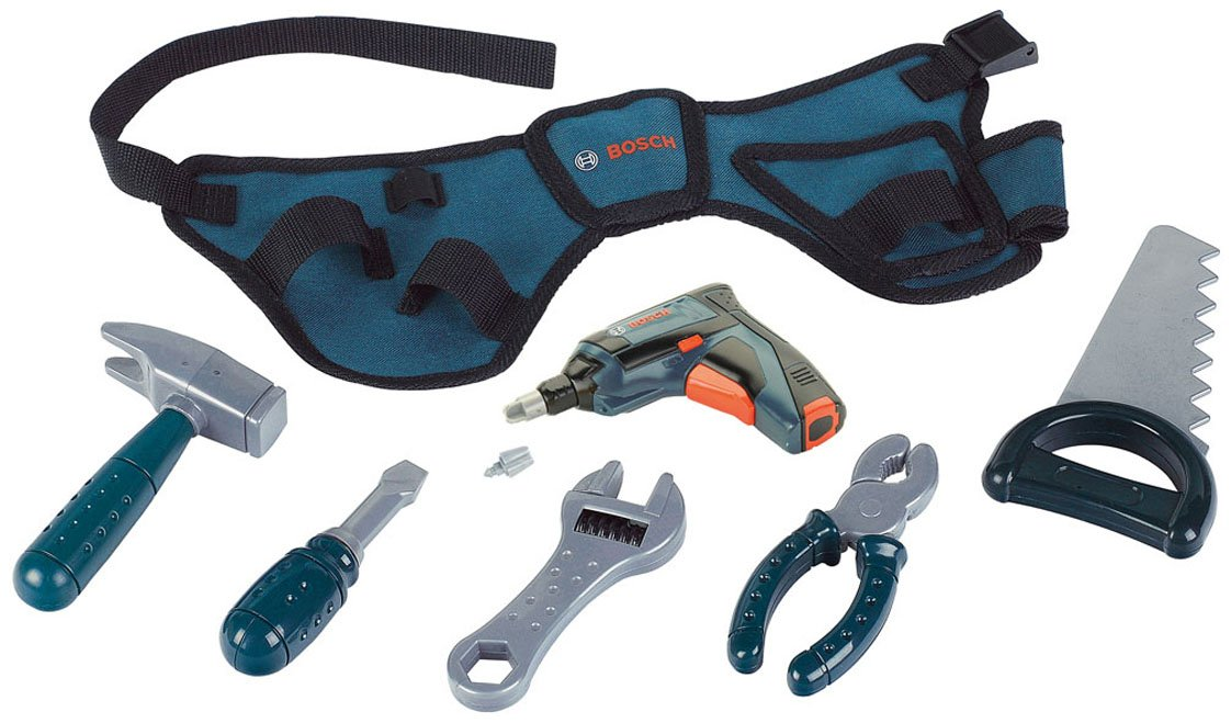 Theo Klein Bosch Toy Tool Belt Flat River Group 8260
