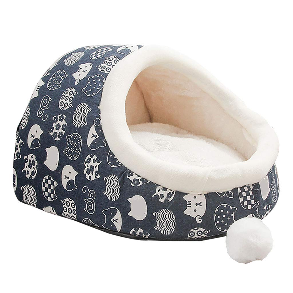 37cm Pets Sleep Zone Cuddle Cave Pet Bed