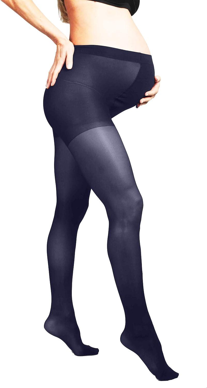 MYSANITY Damen Umstandsstrumpfhose