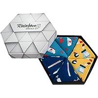 Rainbow Socks - Hombre Mujer Caja de Calcetines Para Enfermeras - 3 Pares